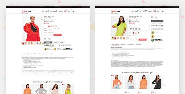 Dropshipping - Fashion Shopify Theme Multipurpose Responsive Template