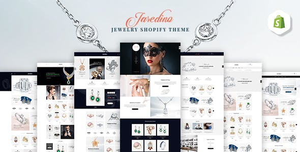 Jaredino | Jewelry Fashion Shopify Theme