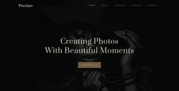 Pixelate - Photography Sketch Template