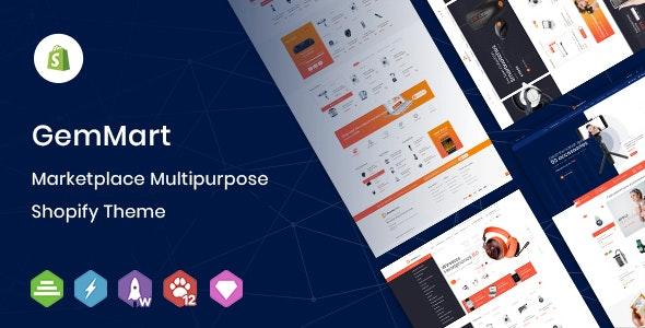 GemMart - Marketplace Multipurpose Shopify Theme - Technology Shopify