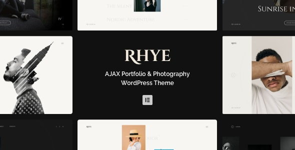 Rhye – AJAX Portfolio WordPress Theme - Portfolio Creative