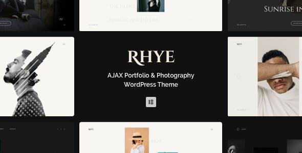 Download Rhye – AJAX Portfolio WordPress Theme