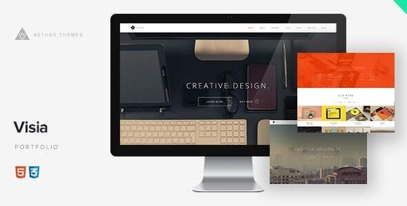 Visia - Responsive One Page Portfolio - Portfolio Creative