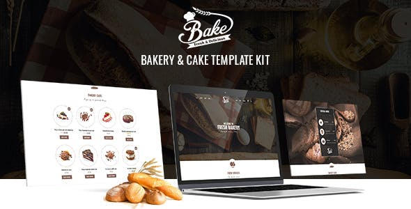 Bake - Bakery & Cake Elementor Template Kit