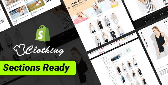 Clothing – Multipurpose Fashion Drag & Drop Sections Shopify Theme