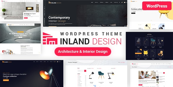 Interior Design WordPress Theme - Business Corporate