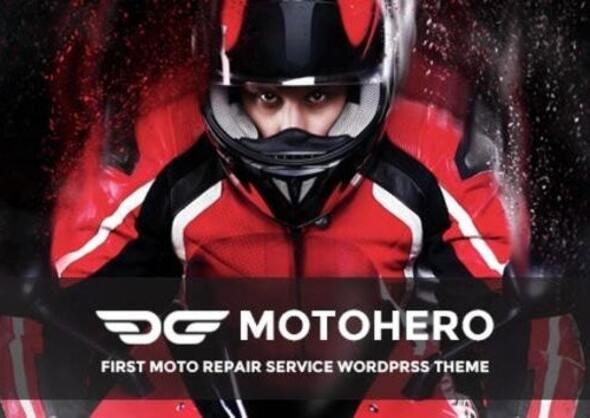 MotoHero | Motorcycle Repair & Custom service Business Wordpress Theme - WordPress