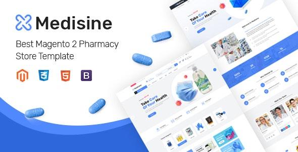 Medisine - Drug and Medical Store Magento 2 Theme - Magento eCommerce