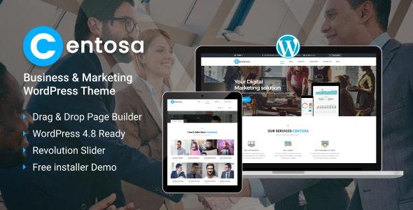 Centosa - Business & Marketing WordPress Theme - Marketing Corporate