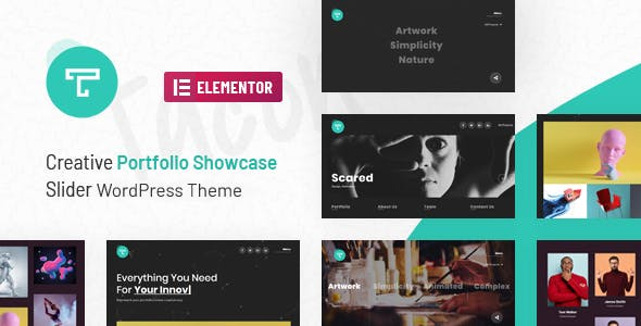 Tacon - A Showcase Portfolio WordPress Theme