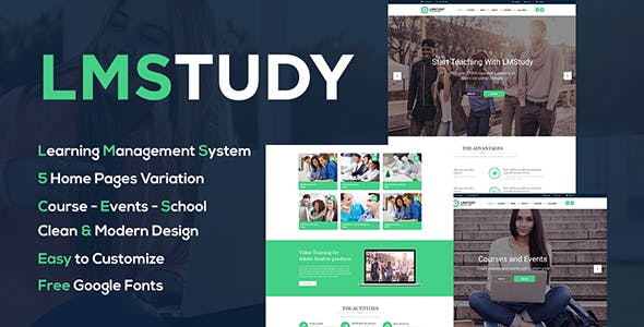 LMStudy - Education LMS WooCommerce Theme