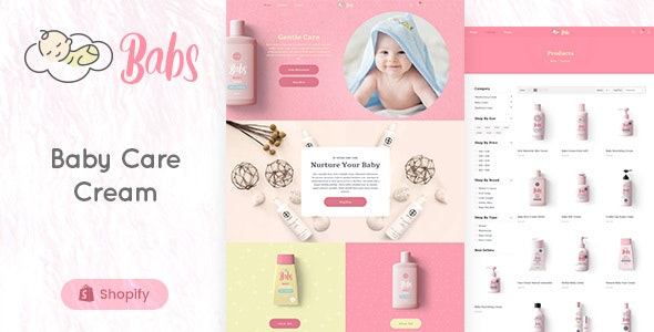 Babs - Baby Shop Shopify Theme - Shopify eCommerce