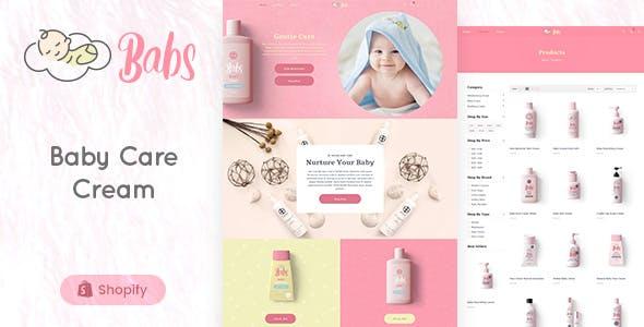 Babs - Baby Shop Shopify Theme