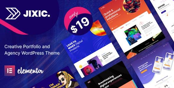 Jixic - Creative Portfolio & Agency WordPress Theme
