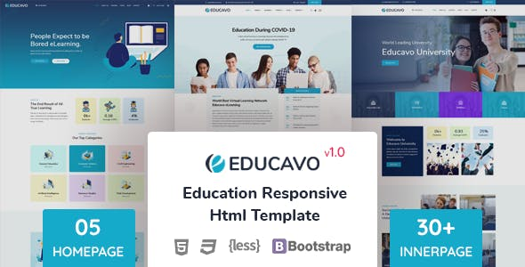 Download Educavo - Education HTML Template