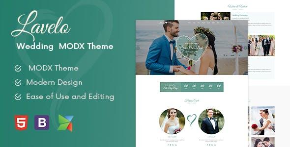 Lavelo – Wedding MODX Theme
