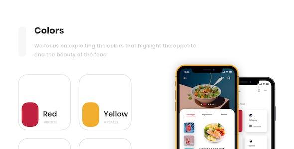 Eden - Food Delivery App UI Kit