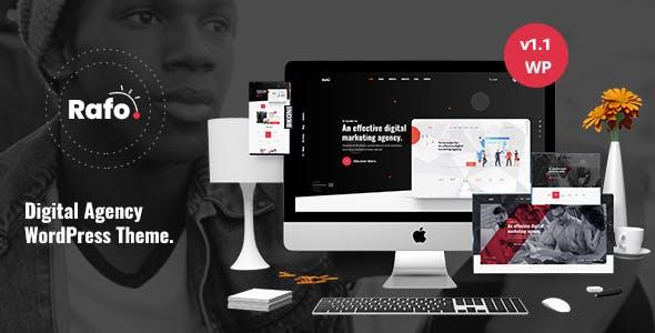 Rafo - Digital Agency WordPress Theme