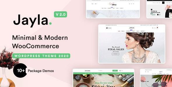 Jayla - Minimal & Modern Multi-Concept WooCommerce Theme - WooCommerce eCommerce