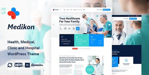 Download Medikon - Health & Medical WordPress Theme