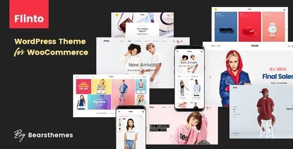 Flinto – Modern and Minimal eCommerce WordPress Theme - WooCommerce eCommerce