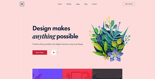 Niro - Creative Agency & Portfolio WordPress Theme