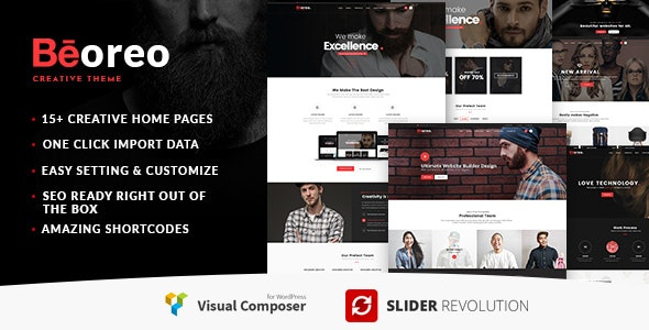 Beoreo | Creative Multi-Purpose WordPress Theme - Creative WordPress