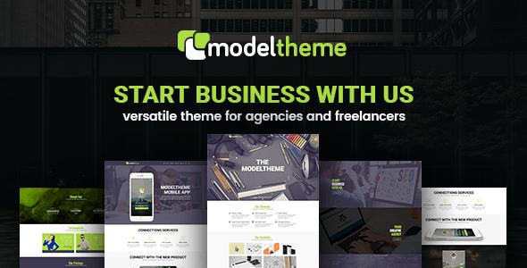 ModelTheme – Web Agency & Freelancing Theme - Creative WordPress