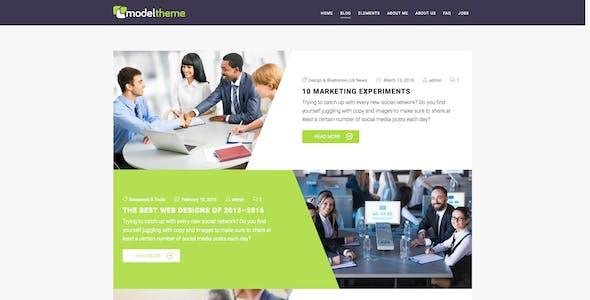 ModelTheme – Web Agency & Freelancing Theme