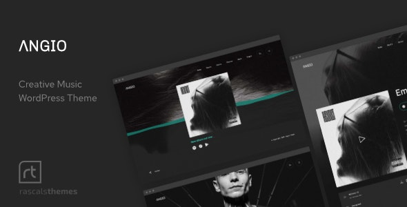 Angio - Creative Music Theme - Music and Bands Entertainment