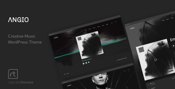 Angio - Creative Music Theme