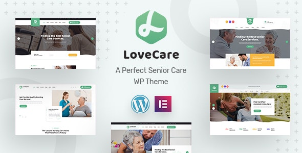 Lovecare - Senior Care WordPress Theme - Health & Beauty Retail