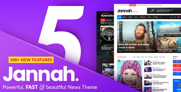 theme wordpress terbaik jannah