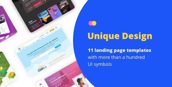 Skeluxi - Sketch Landing Page Collection