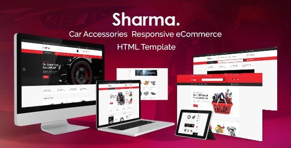 Sharma Car Accessories Shop HTML Template