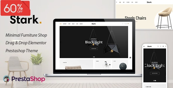 Stark - Furniture Elementor eCommerce PrestaShop Theme - PrestaShop eCommerce