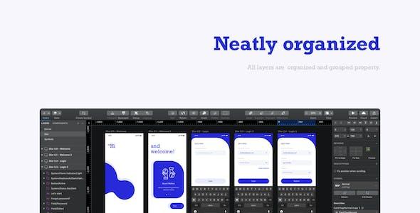 Emonii - Wallet App UI Kit