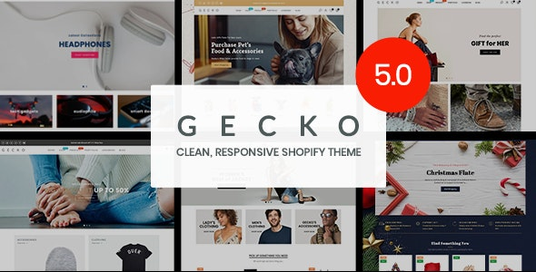 Gecko 5.0 - Responsive Shopify Theme - RTL support - Fashion Shopify
