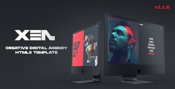 XEN - Creative Agency HTML5 Template - Creative Site Templates