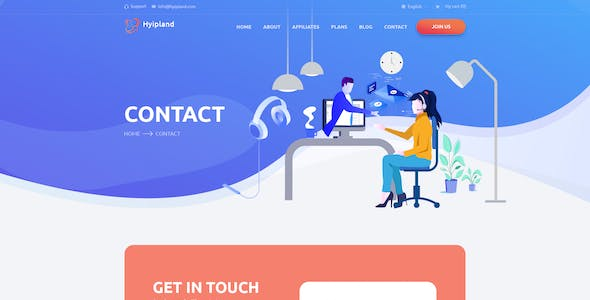 Hyipland - HYIP Investment PSD Template