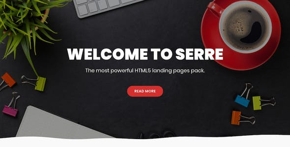 Serre HTML5 Landing Pages Pack
