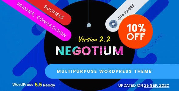 Negotium - Multipurpose Business WordPress Template - Business Corporate