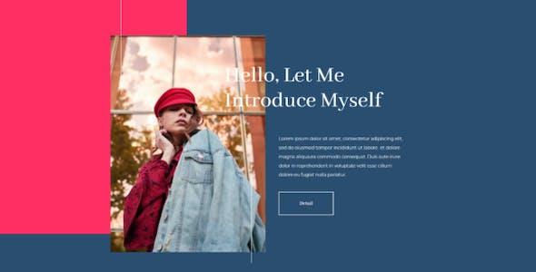 Exposure - Personal Portfolio Elementor Template Kit