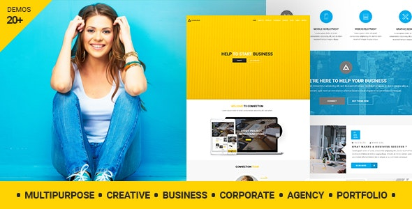 Connection – Creative Agency WordPress Theme - Creative WordPress