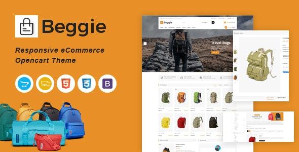 Beggie Responsive OpenCart Theme - Fashion OpenCart