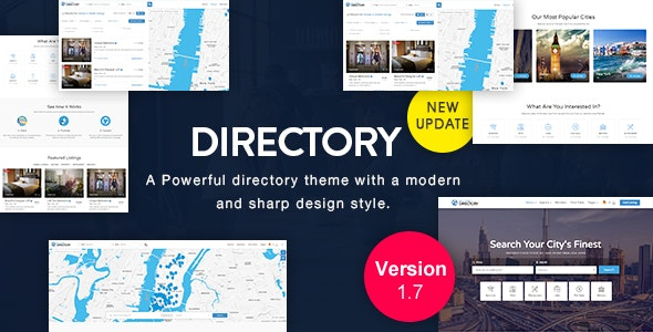 Directory | Multi-purpose WordPress Theme - Directory & Listings Corporate