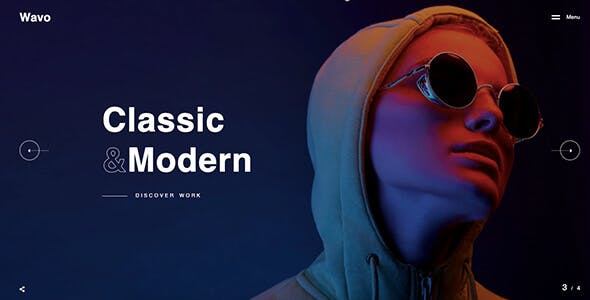 Wavo - Creative Portfolio & Agency Theme