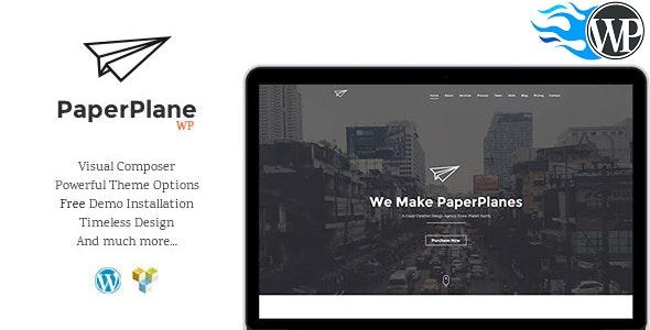 PaperPlane - Creative Business Portfolio - Portfolio Creative