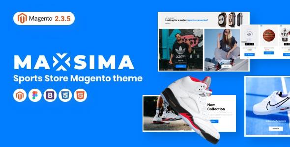 Maxsima - Sports eCommerce Magento 2 Theme