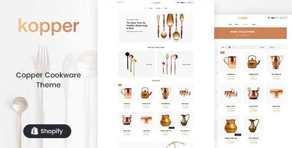 Kopper - Copper Utensils & Appliances Shopify Theme - Shopping Shopify